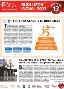 Izložbene novine broj 13, 15. studenoga 2017.