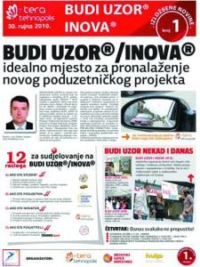 Izložbene novine broj 1, 30. rujna 2010.