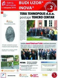 Izložbene novine broj 2, 1. listopada 2010.