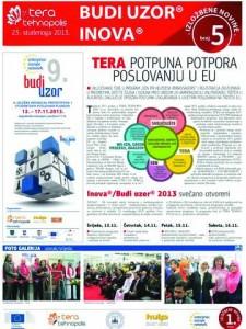 Izložbene novine broj 5, 23. studenoga 2013.