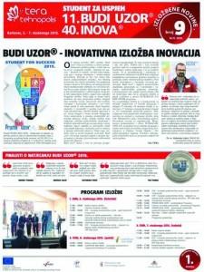 Budi uzor - izložbene novine