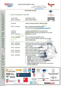 Program izložbe Budi uzor/Inova 2017.