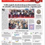 Izložbene novine broj 15, 13. - 16. studenoga 2019.